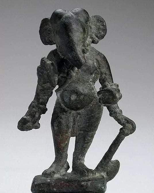 1300 years old God Ganesha idol 7th century A.D.  Found by Archeological team in...
