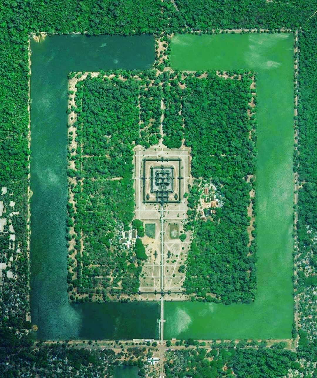 Angkor Wat ( Shree Vishnu Temple ) In Cambodia!  . . . . #lost #temple #temples ...