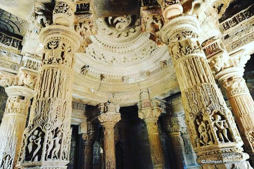 Modhera sun temple.Gujarat.  The Sun Temple of Modhera was built during the reig...