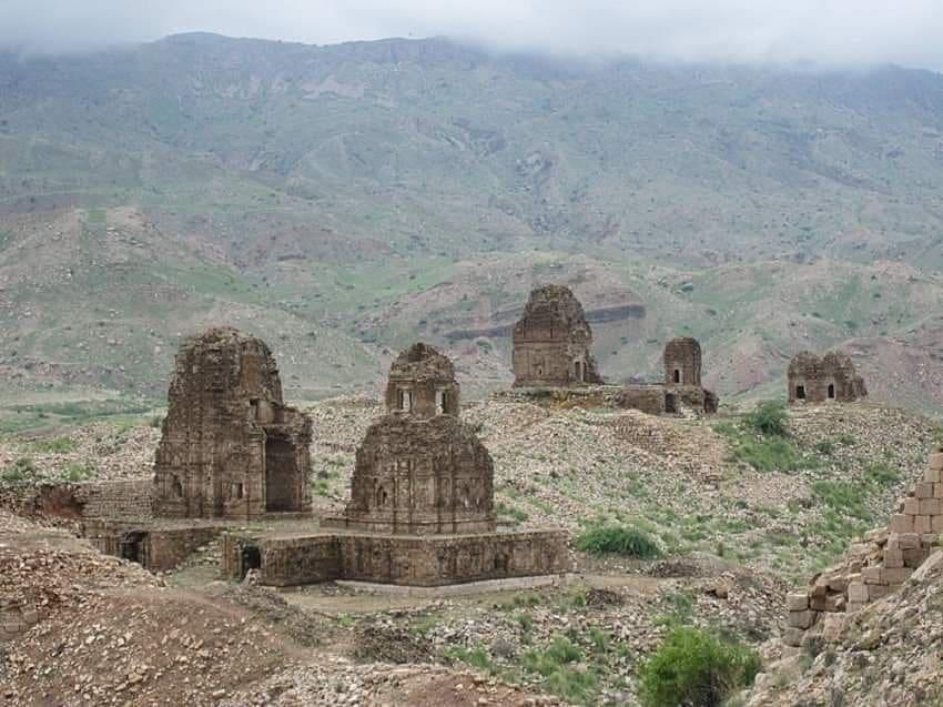 Ruins of Ancient Temples In Kafir Kot Near Dera Ismail Khan ( Now In Pakistan ) ...