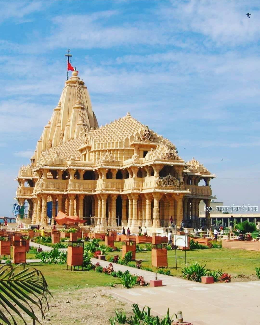 SOMNATH!  PC : Rajputana Itihaas Aur Virasat  #lost #temple #temples #losttemple...